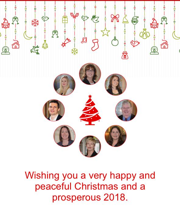 AM O'Sullivan PR Christmas Message 2017