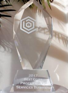 AM O'Sullivan PR awarded Best Professional Services Business at Cork Business Association Awards 2017